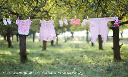Bebeğinizin kıyafetlerini nasıl yıkamalısınız?